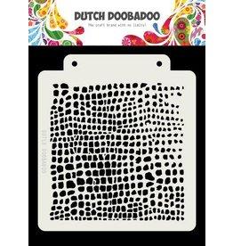 Dutch Doobadoo Mask Art Dutch Doobadoo Dutch Mask Krokodil 163x148 470.715.156 (06-20)