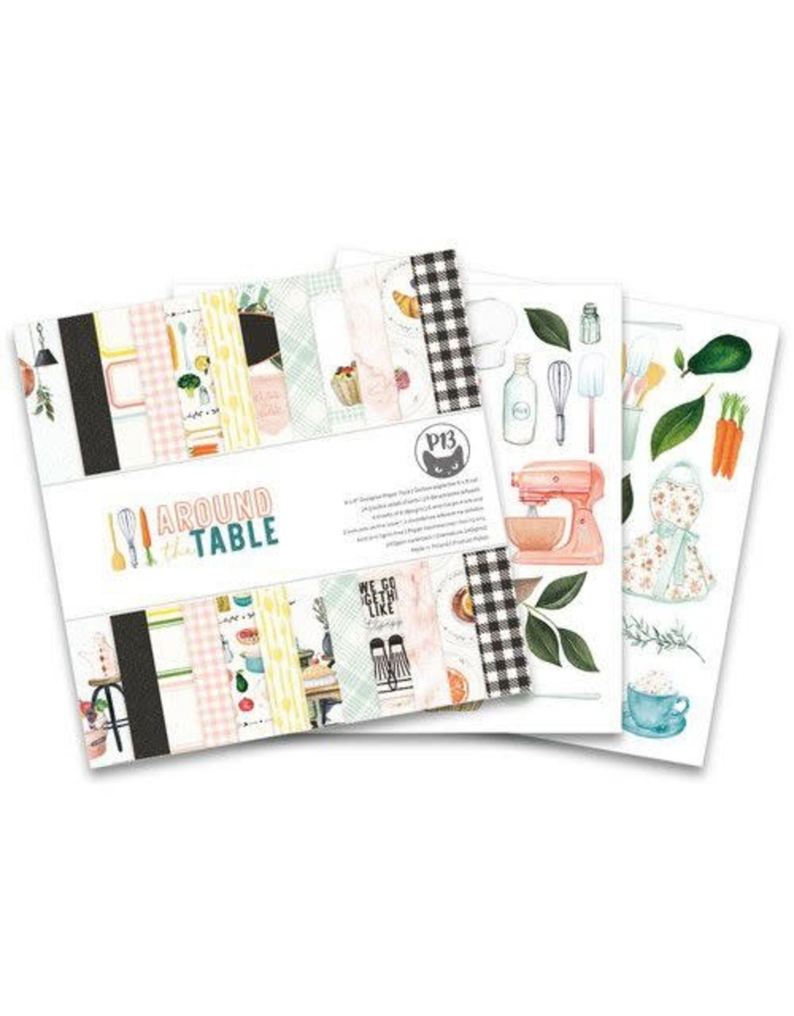 Piatek Piatek13 - Paper pad Around the table 6x6 P13