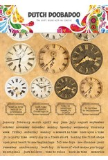 Dutch Doobadoo Dutch Doobadoo Dutch Sticker Art A5 Clocks 491.200.003