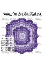Crealies Crealies Crea-Nest-Lies XXL Fantasie vorm B CLXXL101 max. 13 x 13 cm