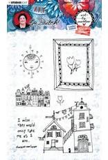 Studio Light Studio Light Clear Stamp A6 Art By Marlene Go Dutch Collection nr.56 STAMPBM56