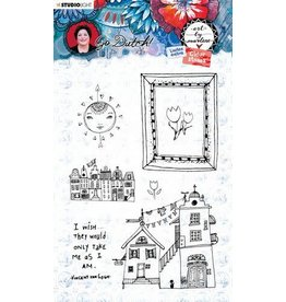 Studio Light Studio Light Clear Stamp A6 Art By Marlene Go Dutch Collection nr.56 STAMPBM56