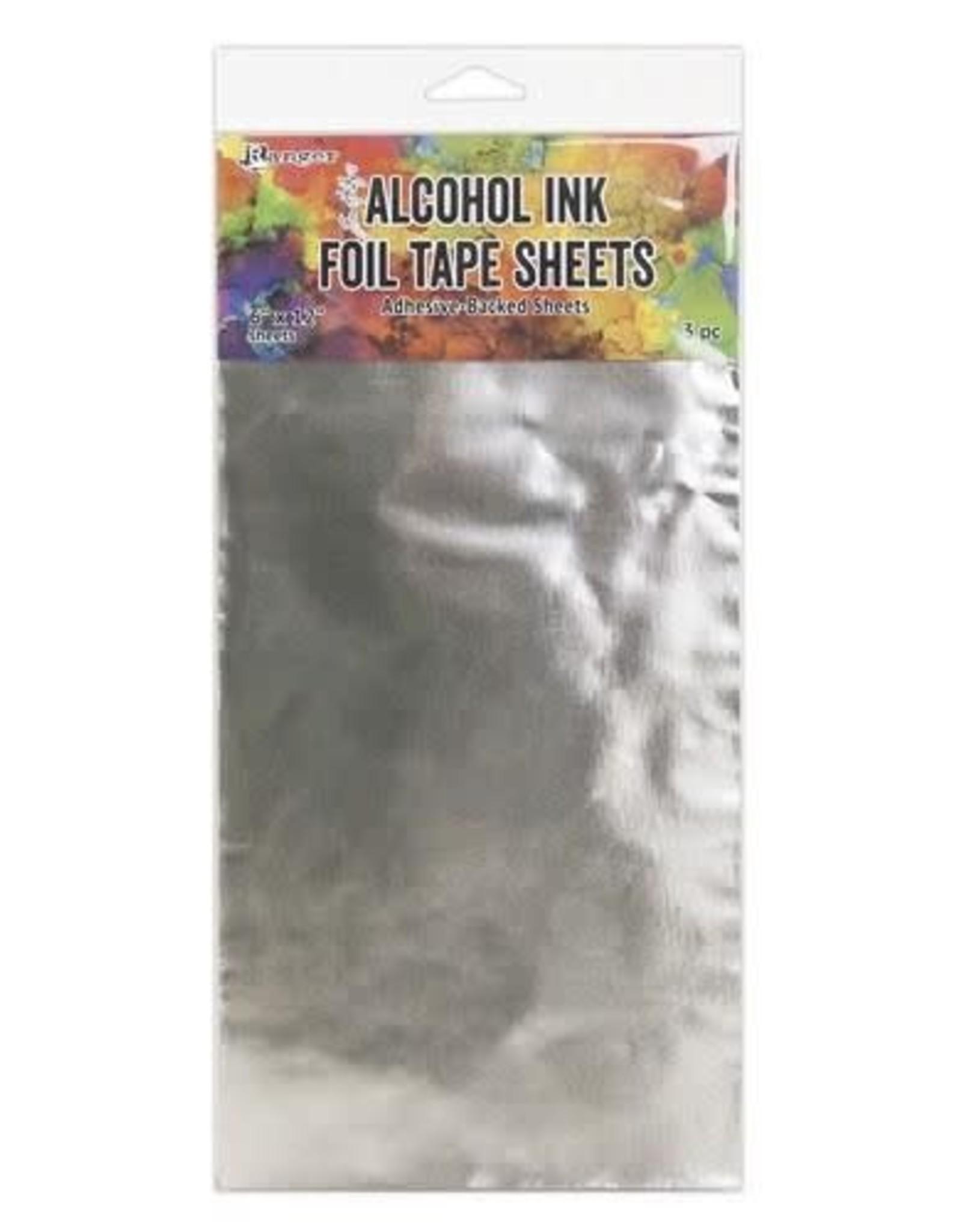 Ranger Ranger Alcohol Ink Foil Tape Sheets 6 x 12 3 vel TAC58540 Tim Holtz