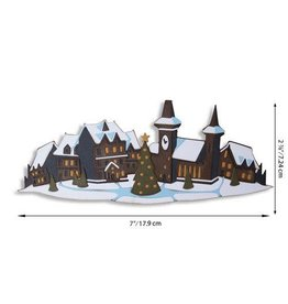 Sizzix Sizzix Thinlits Die Set - Holiday Village Colorize 7PK 664737 Tim Holtz