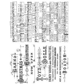 Stampers Anonymous Stampers Anonymous Tim Holtz Music & Advert CMS358