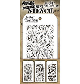 Stampers Anonymous Stampers Anonymous Tim Holtz mini stencils set #47 THMST047