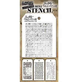 Stampers Anonymous Stampers Anonymous Tim Holtz mini stencils set #48 THMST048