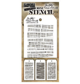 Stampers Anonymous Stampers Anonymous Tim Holtz mini stencils set #34 THMST034