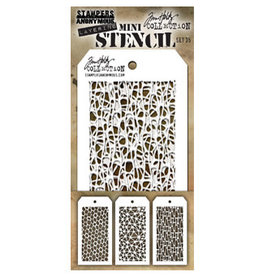 Stampers Anonymous Stampers Anonymous Tim Holtz mini stencils set #35 THMST035
