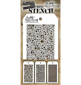 Stampers Anonymous Stampers Anonymous Tim Holtz mini stencils set #46 THMST046