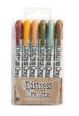 Ranger Ranger Distress Crayons Set 10 TDBK51800