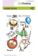 Craft Emotions CraftEmotions clearstamps A6 - Party 2 Carla Creaties