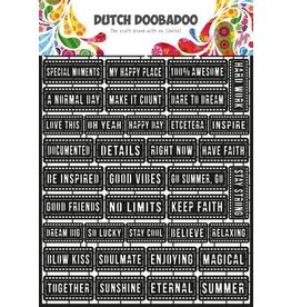 Dutch Doobadoo Dutch Doobadoo Dutch Paper Art A4 Tekst (Eng) 472.950.008