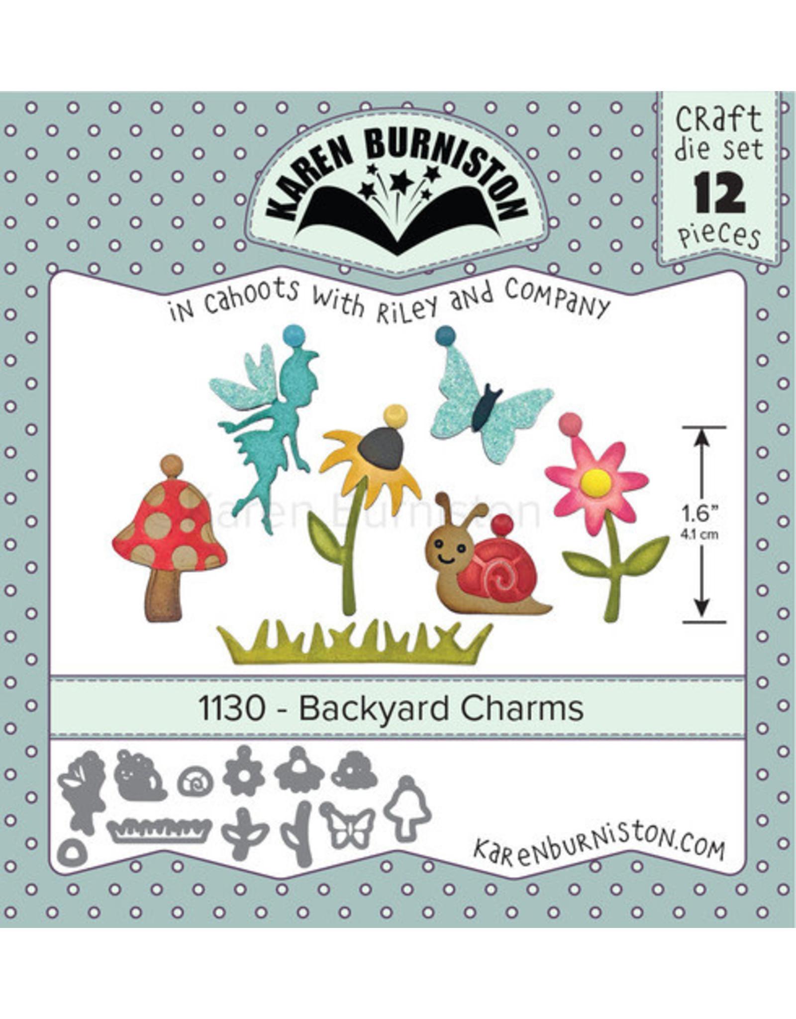 Karen Burniston Karen Burniston Backyard Charms 1130