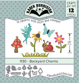 Karen Burniston Karen Burniston Backyard Charms 1130