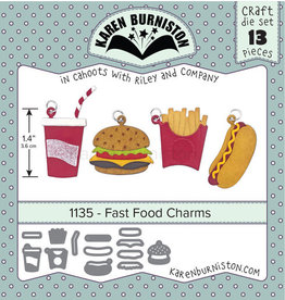 Karen Burniston Karen Burniston Fast food charms 1135