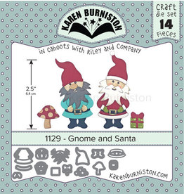 Karen Burniston Karen Burniston Gnome and Santa 1129