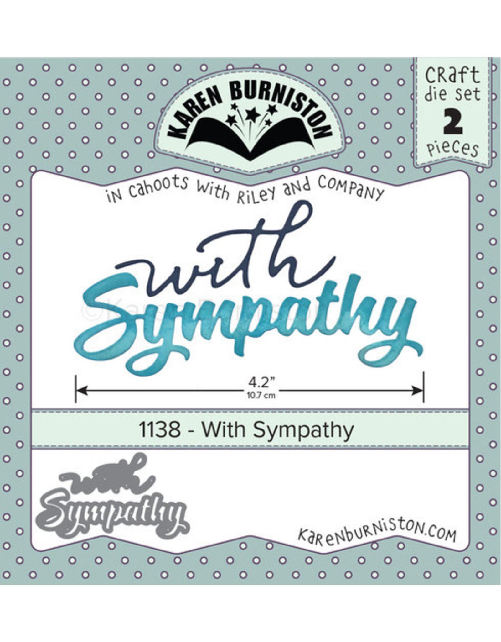 Karen Burniston Karen Burniston With Sympathy 1138