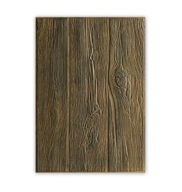 Sizzix Sizzix 3-D Embossing Folder - Wood Planks 662718 Tim Holtz