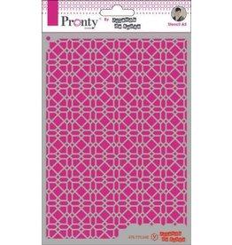 Pronty Pronty Mask Pattern background 4 A5 470.770.048 by Jolanda