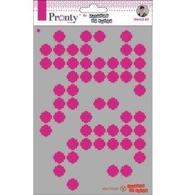 Pronty Pronty Mask Pattern background 3 A5 470.770.047 by Jolanda