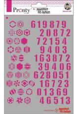 Pronty Pronty Mask Pattern numbers A5 470.770.046 by Jolanda