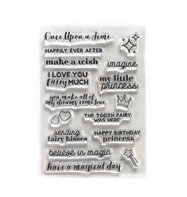 Elizabeth Craft Designs Elizabeth Craft Designs Once Upon a Time Sentiments CS184