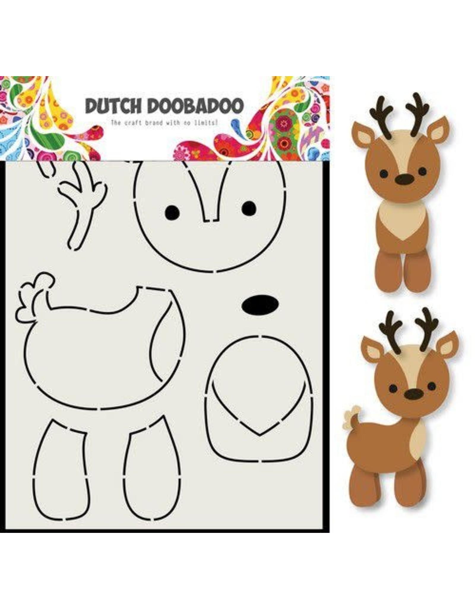 Dutch Doobadoo Dutch Doobadoo Card Art Rendier A5 470.713.796