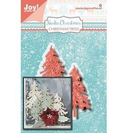 Joy Craft Joy! Crafts Snij-embosstansmal - Noor - NC- kerstbomen 6002/1506 28x42/54,5x32,5 mm