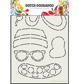 Dutch Doobadoo Dutch Doobadoo Card Art Zomerkleding Beer A5 470.713.801
