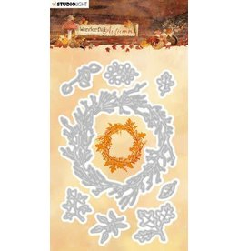 Studio Light Studio Light Embossing Die 94x146mm Wonderful Autumn nr.312 STENCILWA312