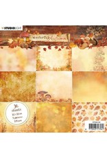 Studio Light Studio Light Paper Pad Wonderful Autumn nr.149 PPWA149 15x15cm