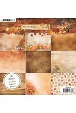 Studio Light Studio Light Paper Pad Wonderful Autumn nr.150 PPWA150 15x15cm
