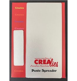 Crealies Crealies Mixed Media metalen pasta spatel groot en klein CLMM99 20 x 70 mm - 148 x 70 mm