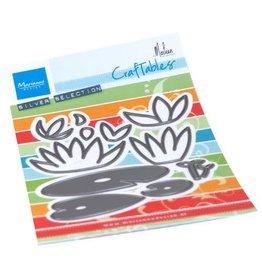 Marianne Design Marianne D Craftable Waterlelies by Marleen CR1515 98x98mm