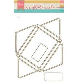 Marianne Design Marianne D Craft Stencil A4 - Envelop PS8071 210x320