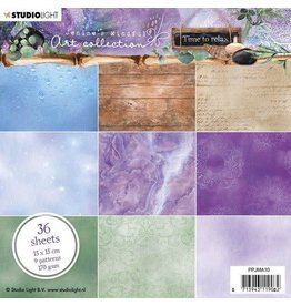 Studio Light Studio Light Paper Pad Jenine's Mindful Art 5.0 nr.10 PPJMA10 15x15cm