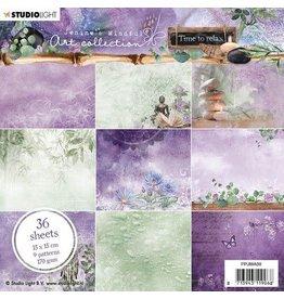 Studio Light Studio Light Paper Pad Jenine's Mindful Art 5.0 nr.08 PPJMA08 15x15cm