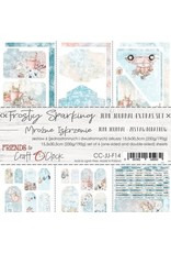Craft O'Clock CraftO'Clock Frosty Sparking Junk Journal set