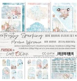 Craft O'Clock CraftO'Clock Frosty Sparking Junk Journal set