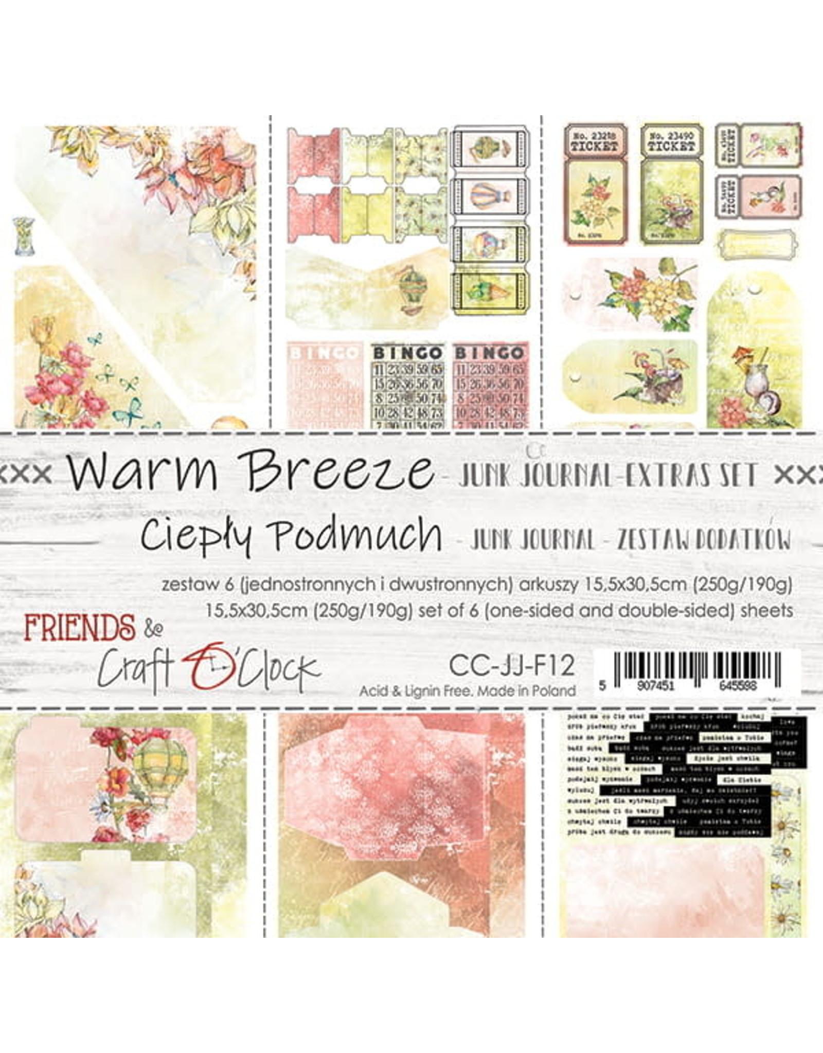 Craft O'Clock CraftO'Clock Warm Breeze Junk journal set