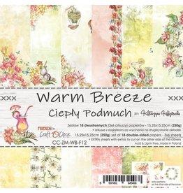 Craft O'Clock CraftO'Clock Warm Breeze paperpad 15.2 x 15.2 cm