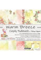 Craft O'Clock CraftO'Clock Warm Breeze paperpad 20.3 x 20.3 cm