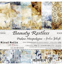 Craft O'Clock CraftO'Clock Beauty Restless paperpad 15.2 x 15.2 cm