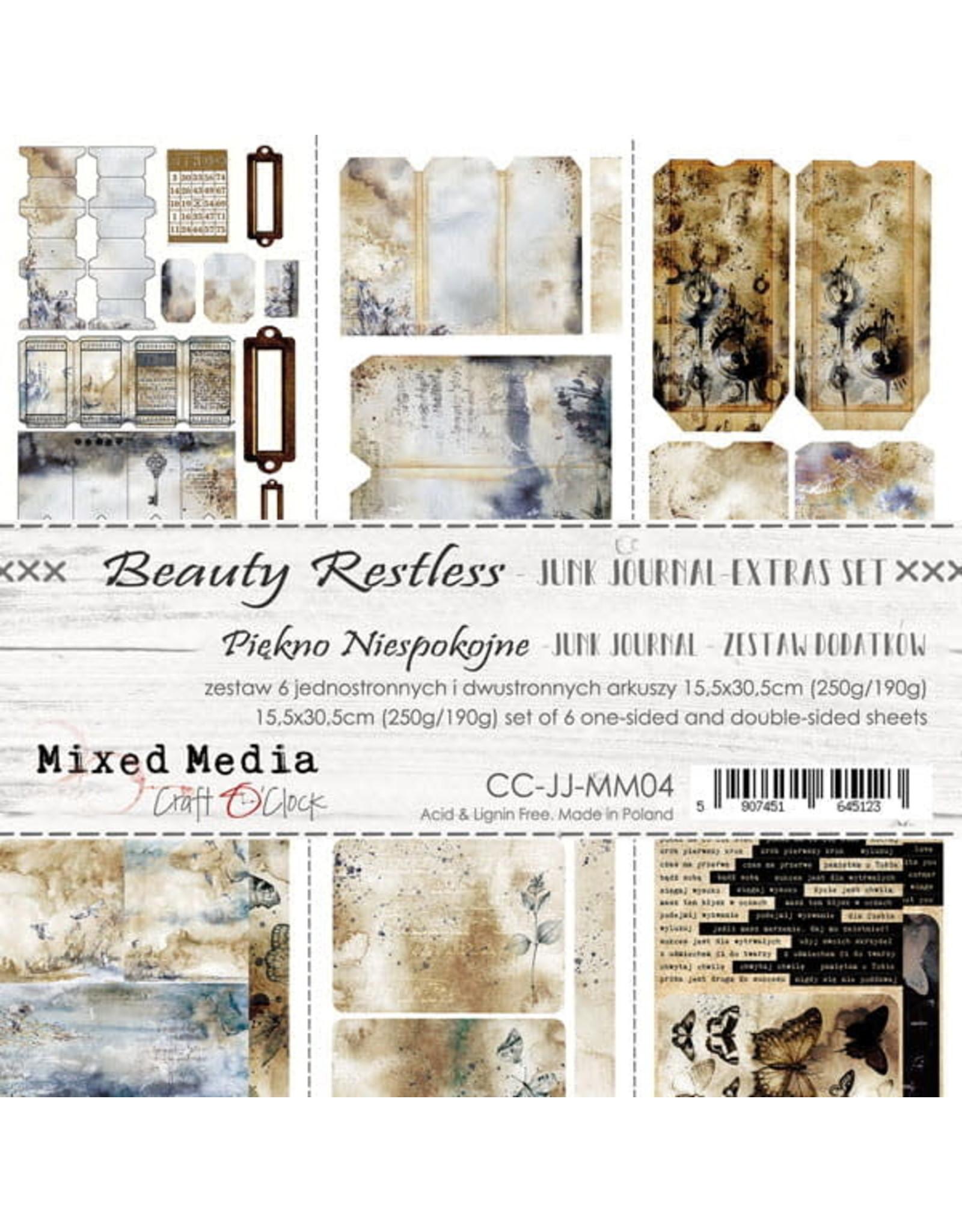 Craft O'Clock CraftO'Clock Beauty Restless Junk Journal set