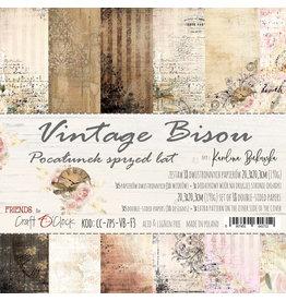 Craft O'Clock CraftO'Clock Vintage Bisou paperpads 20.3 x 20.3 cm