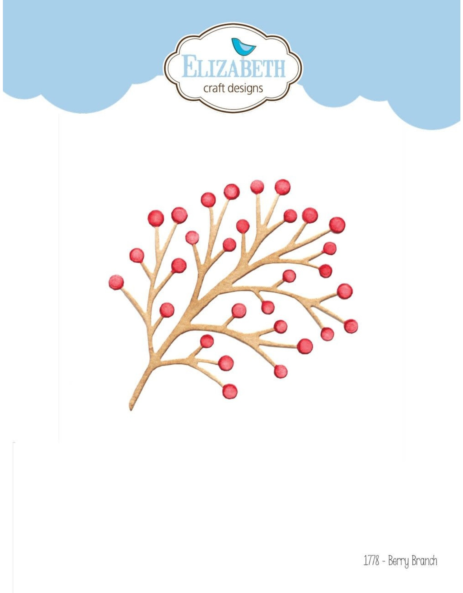 Elizabeth Craft Designs Elizabeth Craft Designs Berry Branch & Twig 1778