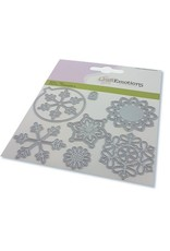 Craft Emotions CraftEmotions Die - kerstbal rond multi ornament Card 11x9cm - 82 mm