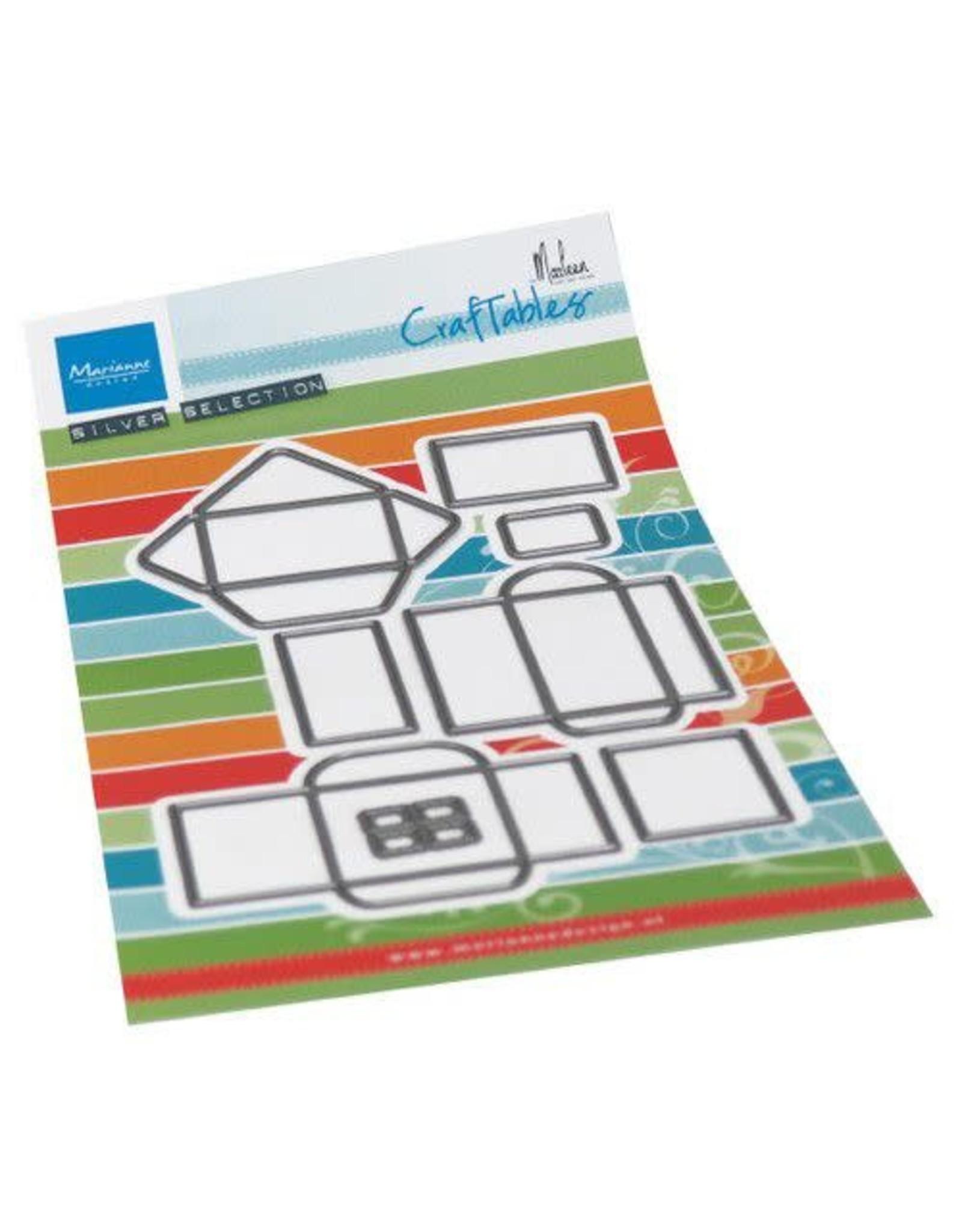 Marianne Design Marianne D Craftable Envelop set by Marleen CR1518 120x205 mm