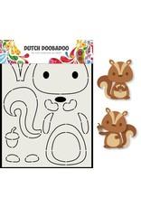 Dutch Doobadoo Dutch Doobadoo Card Art Eekhoorn A5 470.713.797